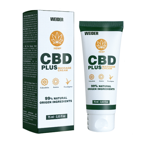 CBD PLUS MASSAGE CREAM
